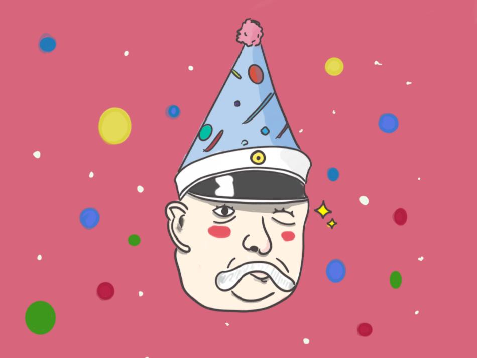 Celebrating April Fools' by honoring Bismarck's Birthday